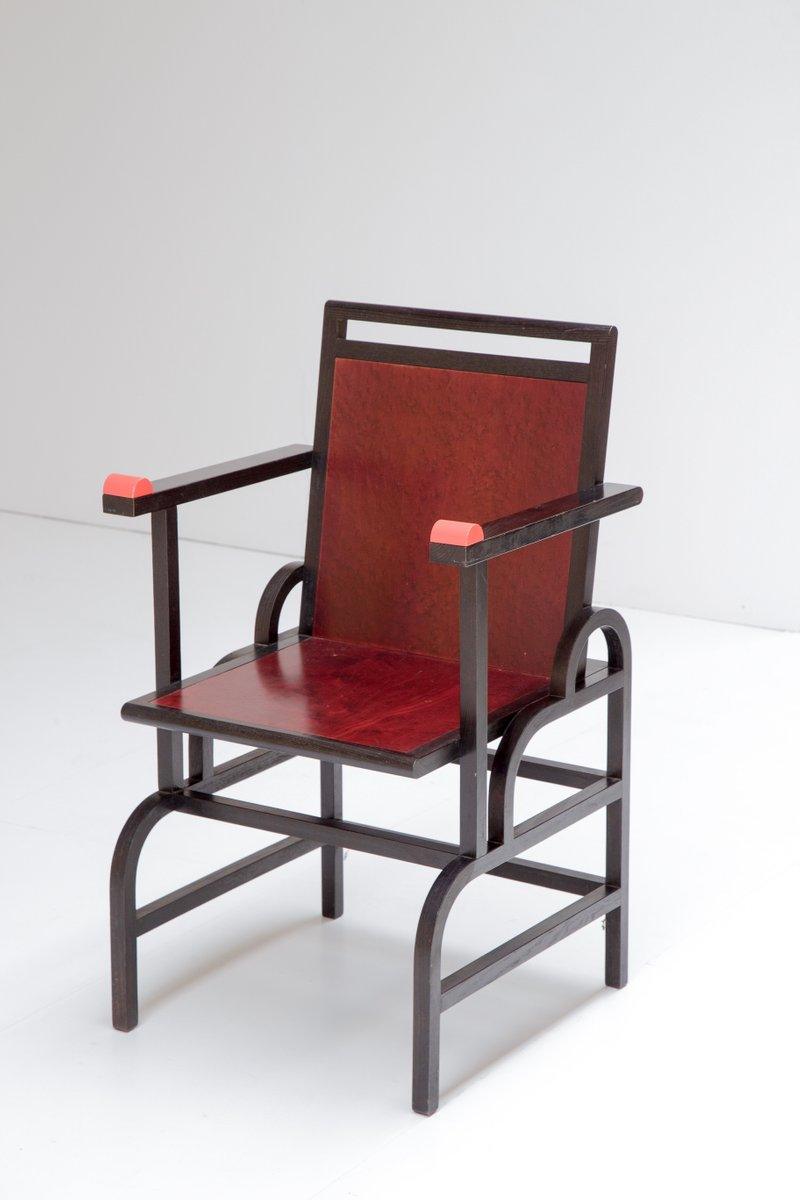 Italian gloucester chair by george sowden for memphis for 1980s chair