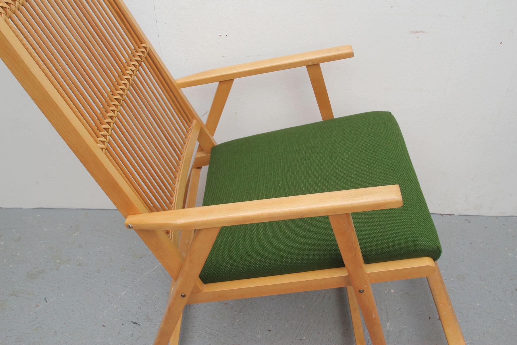 Deutscher bambus schaukelstuhl 1950er bei pamono kaufen for Schaukelstuhl bambus