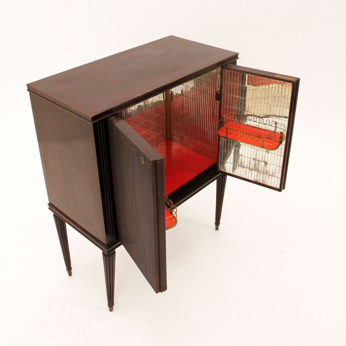 Damaged Kitchen Cabinets For Sale: Mid-Century Italian Bar Cabinet, 1940s For Sale At Pamono