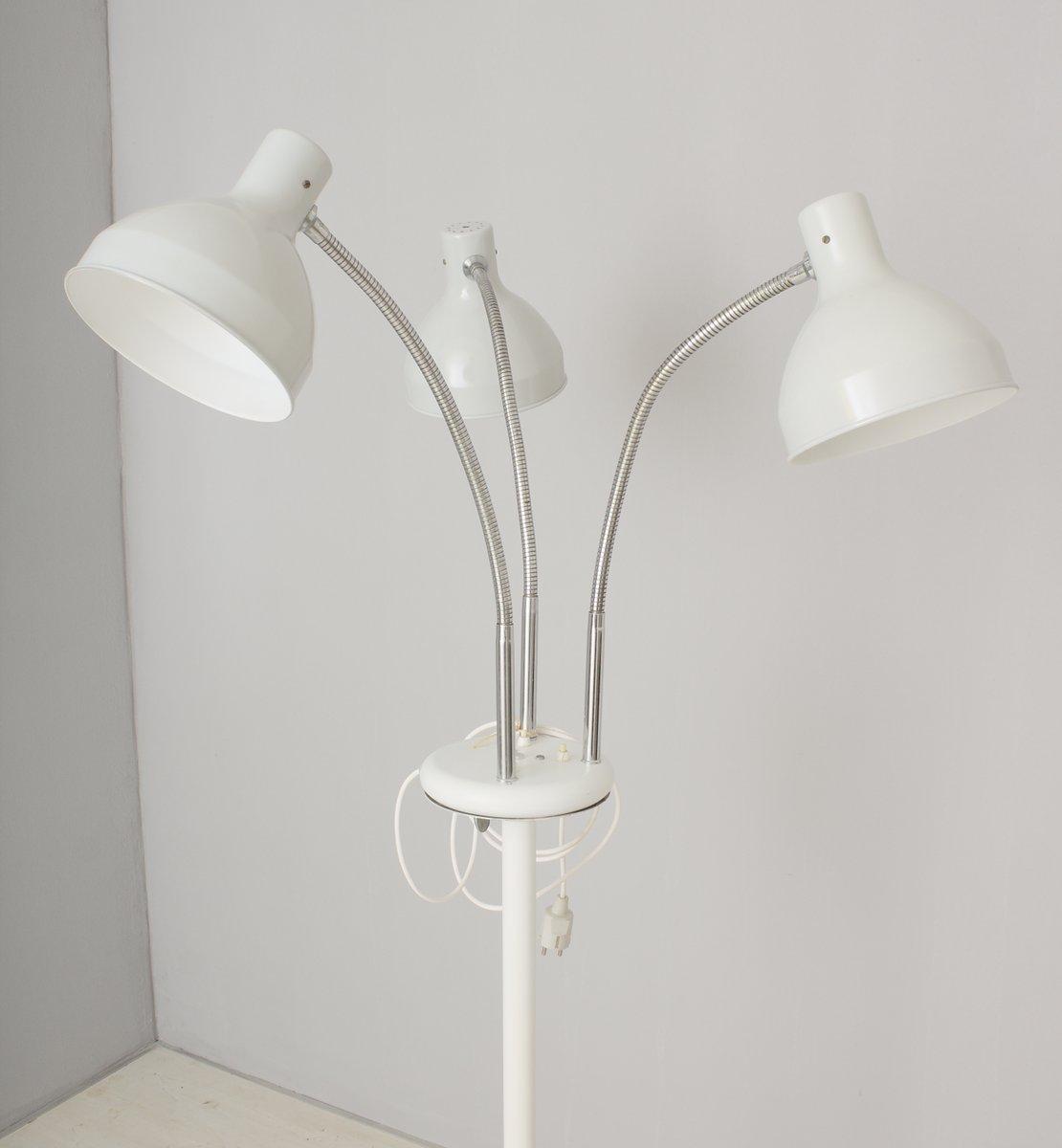 vintage arzt stehlampe mit drei leuchten bei pamono kaufen. Black Bedroom Furniture Sets. Home Design Ideas