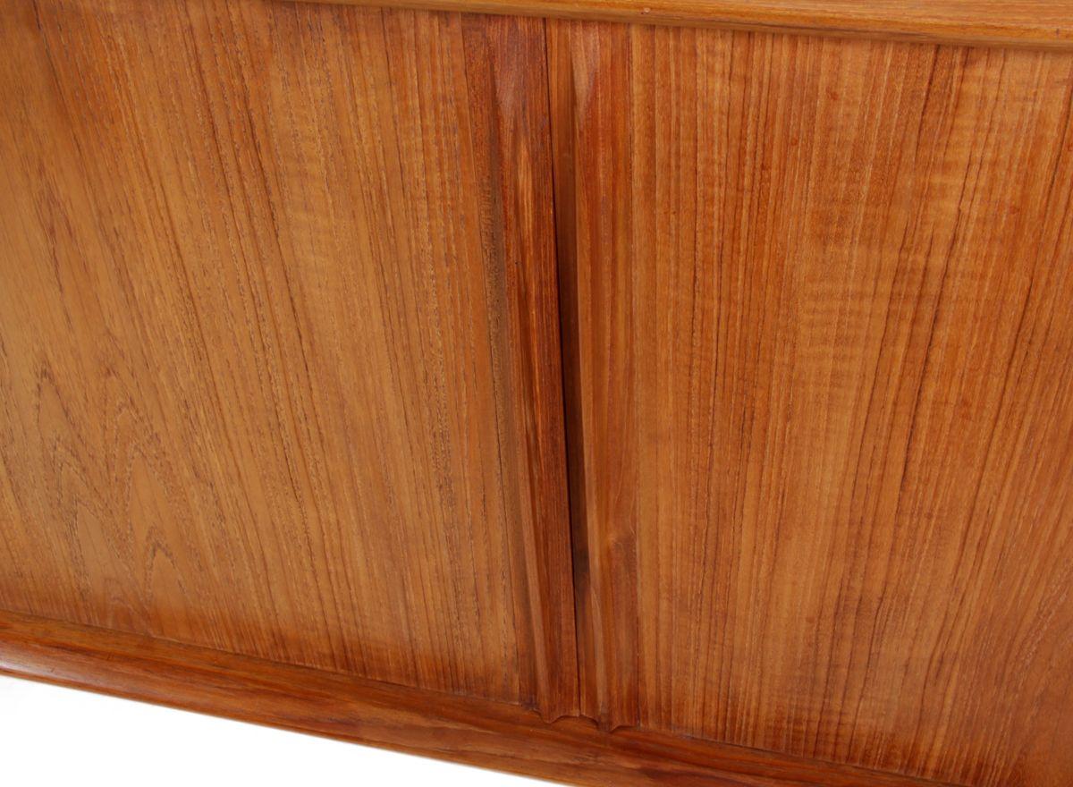 Timber veneer kitchen tambour doors tambortech - Teak Sideboard With Tambour Doors By Bernard Pederson
