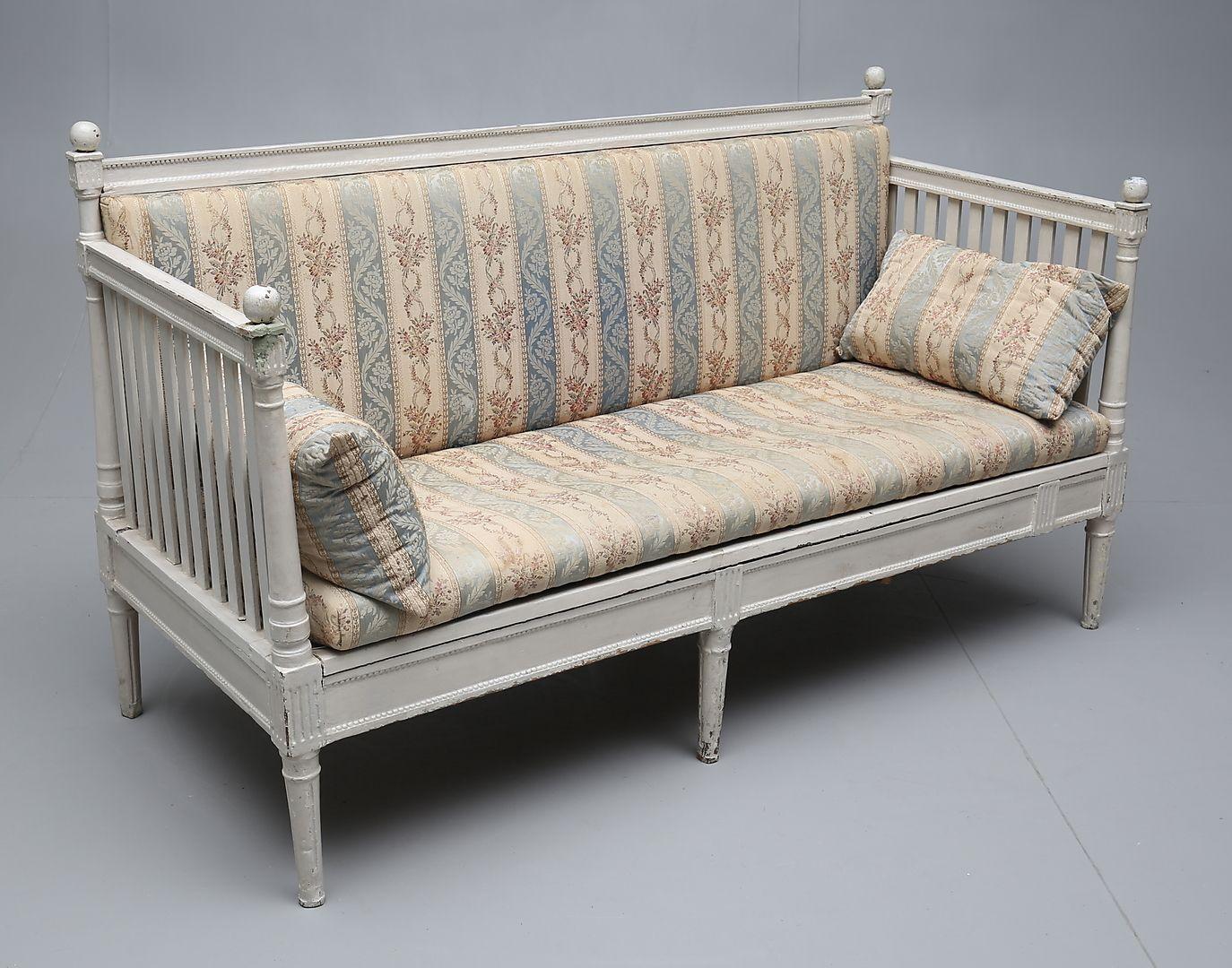 Antique Swedish Gustavian Sofa For Sale At Pamono