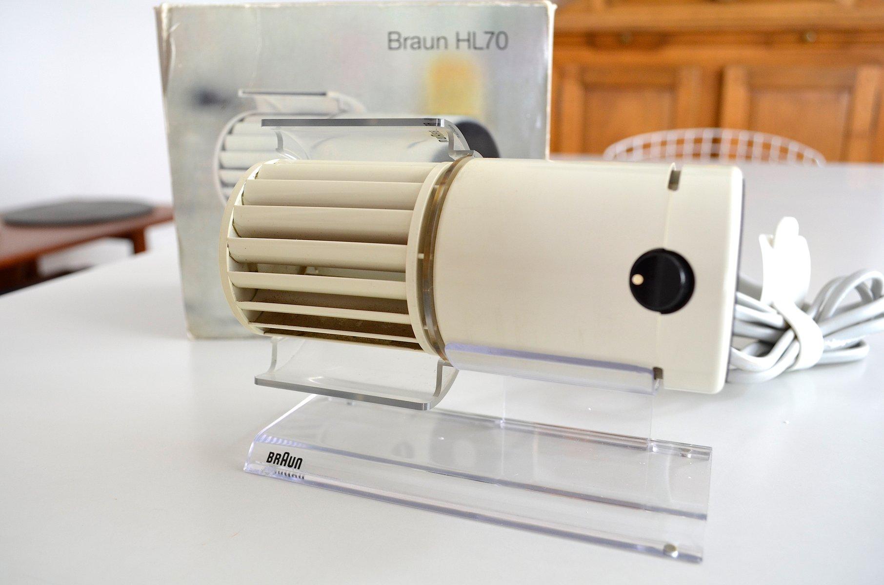Vintage hl70 tischventilator von reinhold weiss j rgen for Design tischventilator