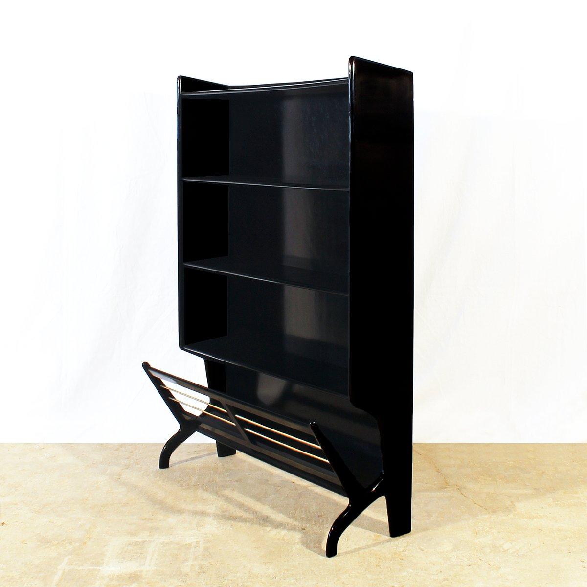 kleine italienische b cherregale aus mahagoni 1950er 2er. Black Bedroom Furniture Sets. Home Design Ideas