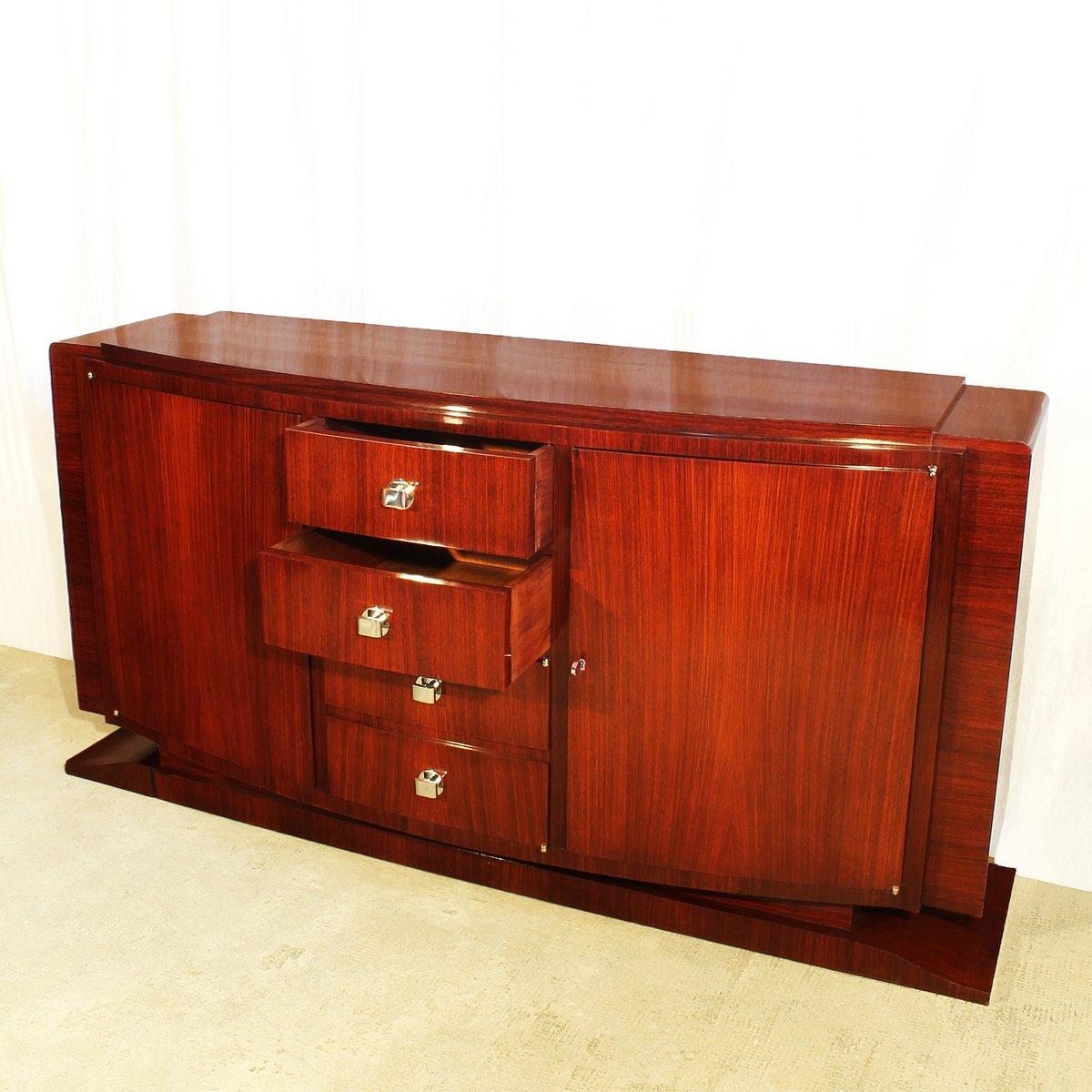 French art deco mahogany rosewood sideboard 1930s for - Deko sideboard ...