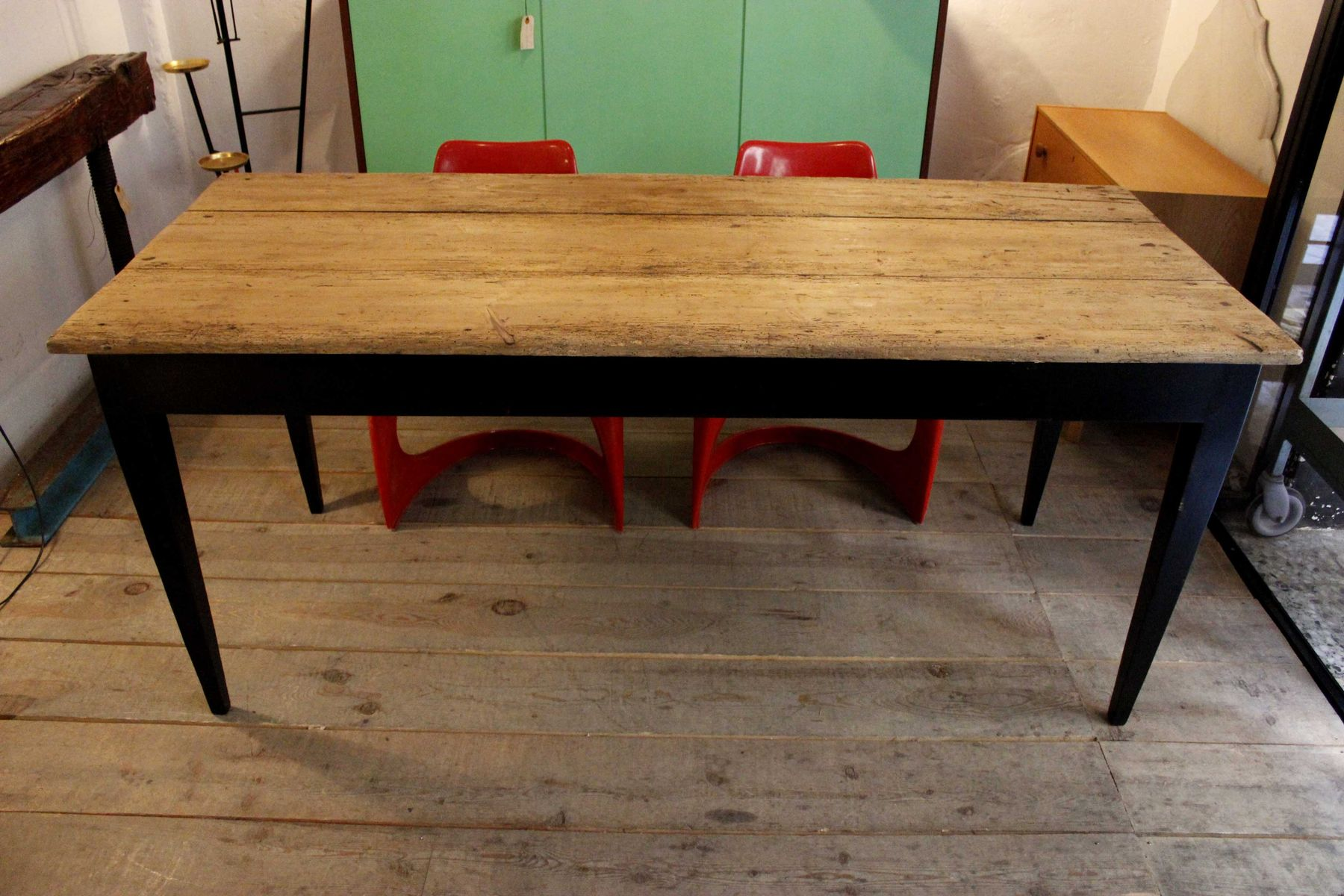 Pine Kitchen Furniture Mid Century Pine Kitchen Table For Sale At Pamono