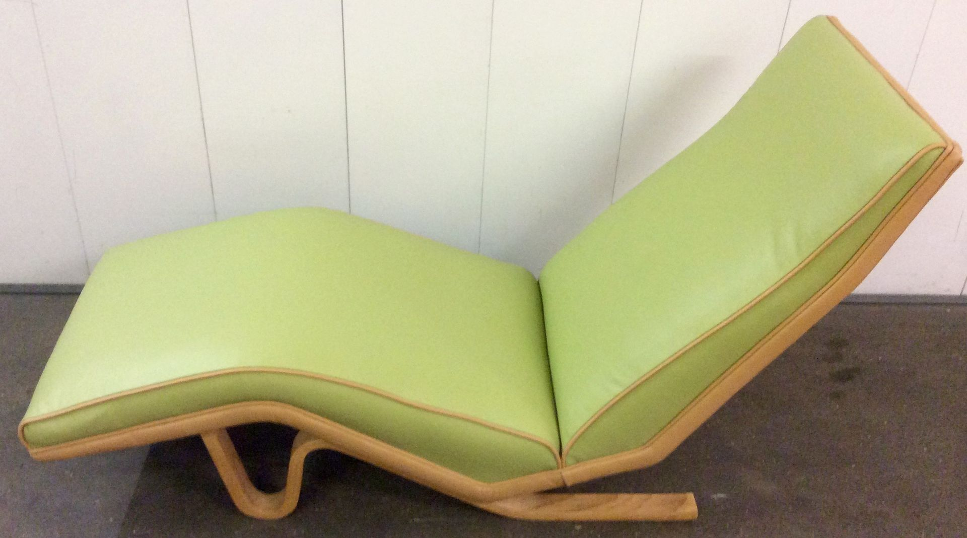 British chaise lounge by andrew j milne 1950s for sale for Chaise for sale