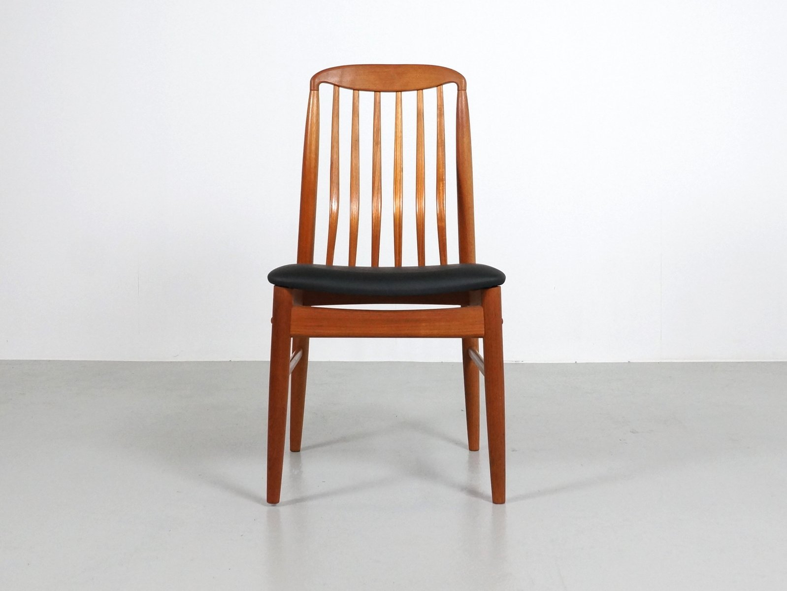 Thai Teak Dining Chairs By Benny Linden 1970s Set Of 6