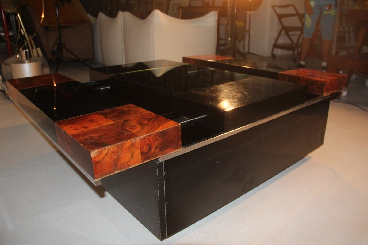 Italian coffee table with bar 1970s for sale at pamono for Italian coffee table