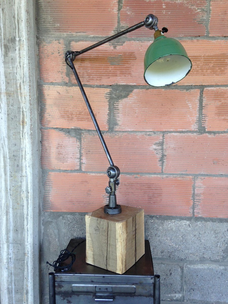 Vintage articulated workshop lamp from tout sens 1930s for sale vintage articulated workshop lamp from tout sens 1930s arubaitofo Choice Image