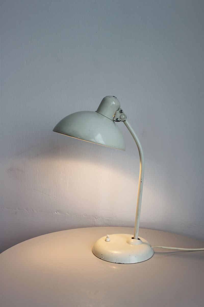 Vintage Cream Bauhaus 6556 Table Lamp By Christian Dell