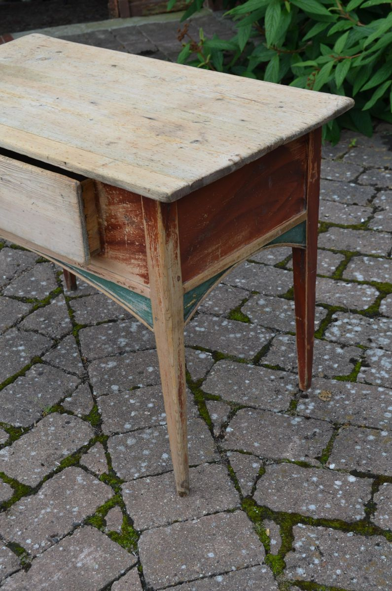 Antique swedish console table for sale at pamono for Sofa table rules