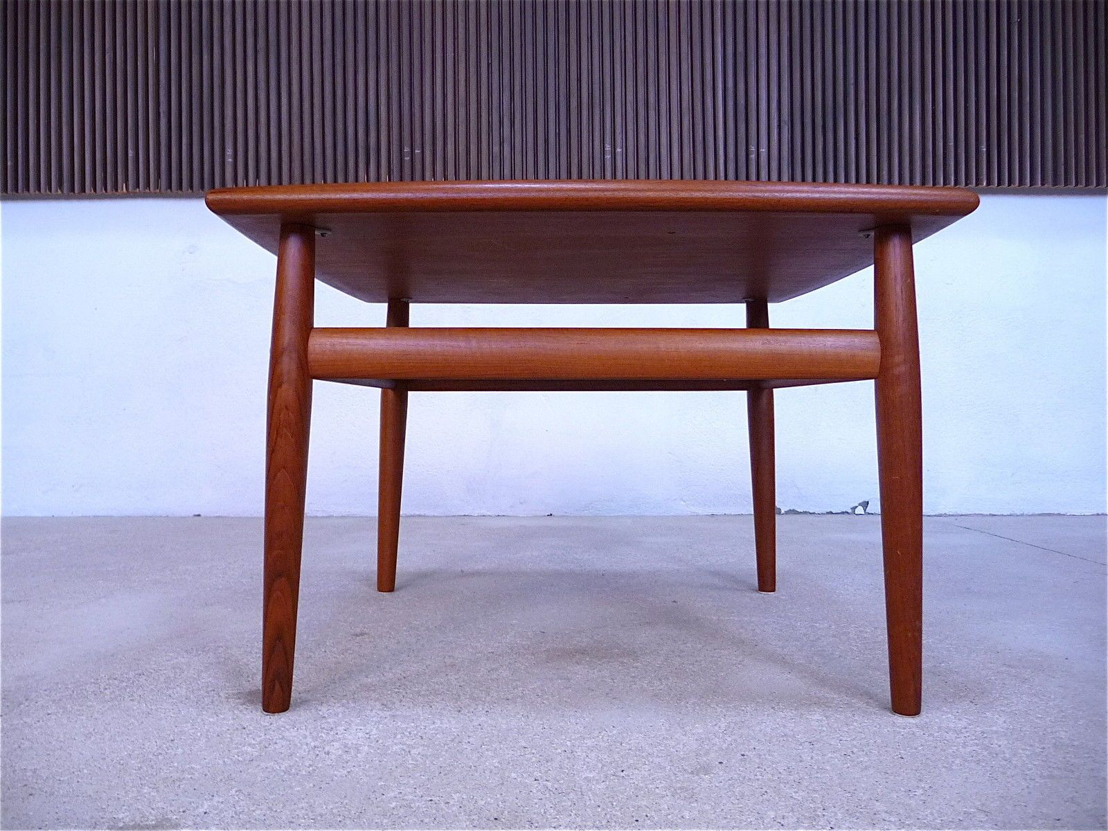Mid Century Danish Teak Coffee Table by Grete Jalk for Glostrup
