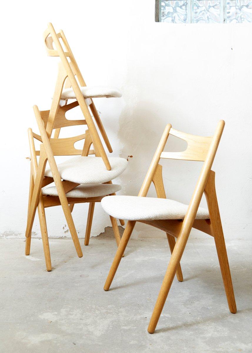 chaise de salle manger ch 20 tr teau par hans j wegner. Black Bedroom Furniture Sets. Home Design Ideas