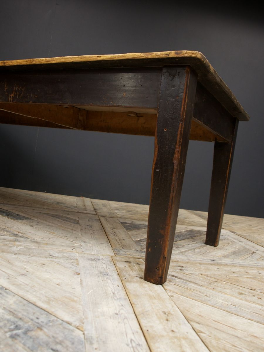 Pine Kitchen Tables For Painted Pine Kitchen Table 1900s For Sale At Pamono