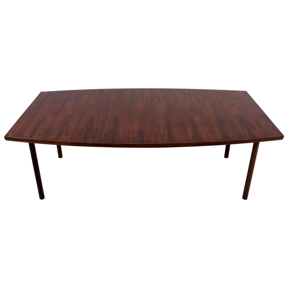 Mid Century Rosewood Boat Shaped Dining or Conference  : mid century rosewood boat shaped dining or conference table 1 from www.pamono.co.uk size 1200 x 1200 jpeg 34kB
