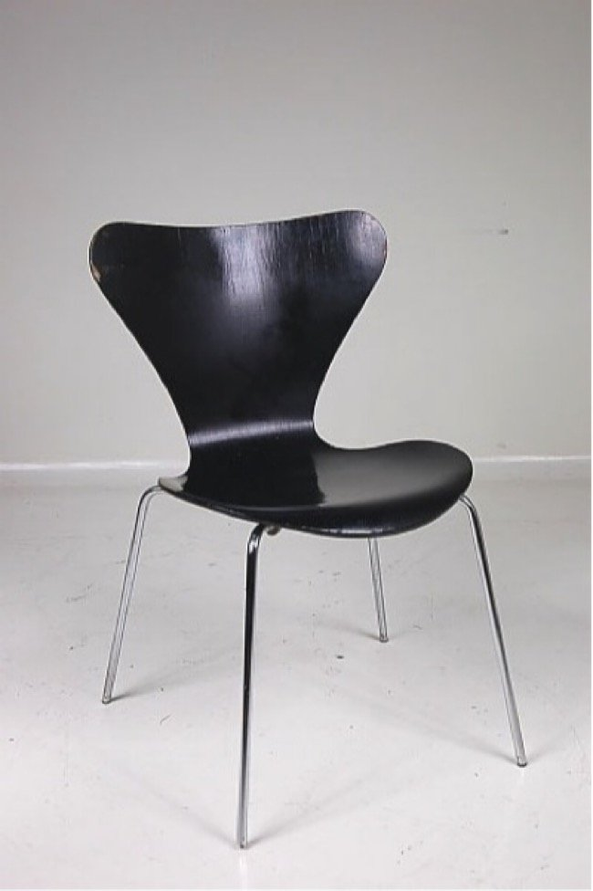 series 7 chair by arne jacobsen for fritz hansen 1979 for sale at pamono. Black Bedroom Furniture Sets. Home Design Ideas