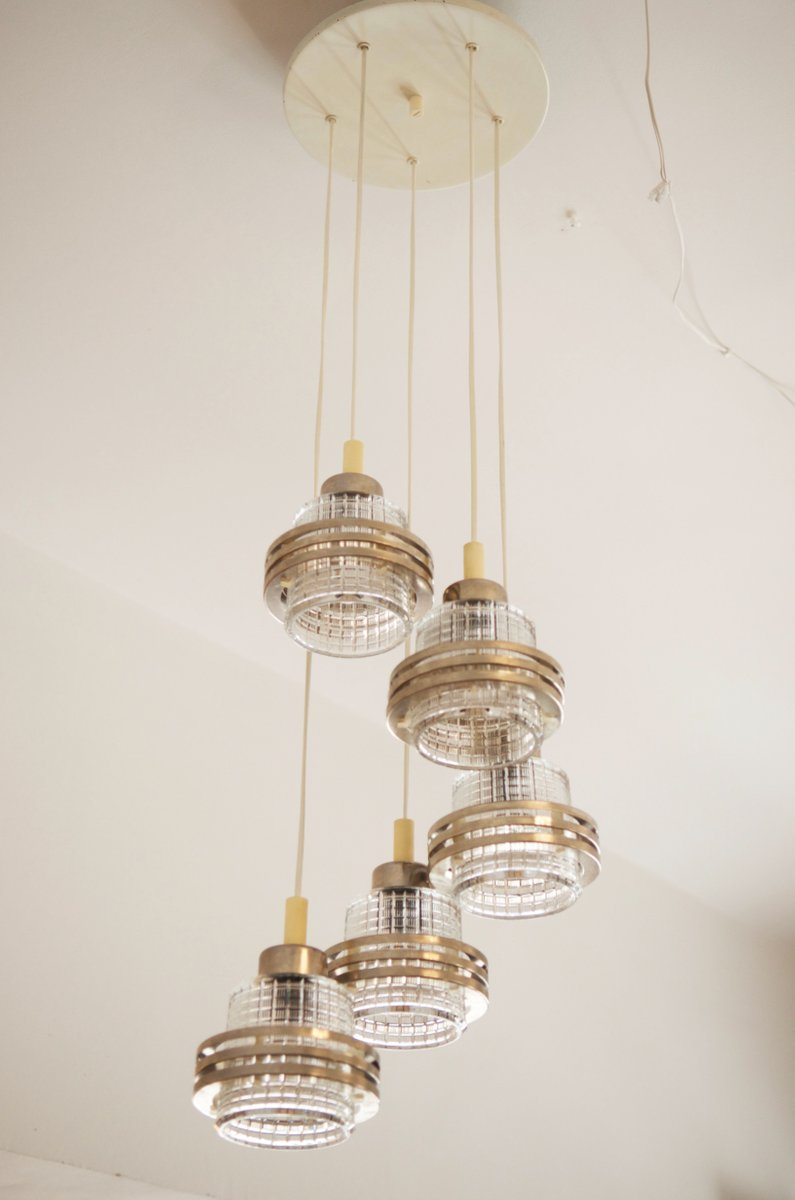 Mid century cascading chandelier 1950s for sale at pamono mid century cascading chandelier 1950s arubaitofo Images
