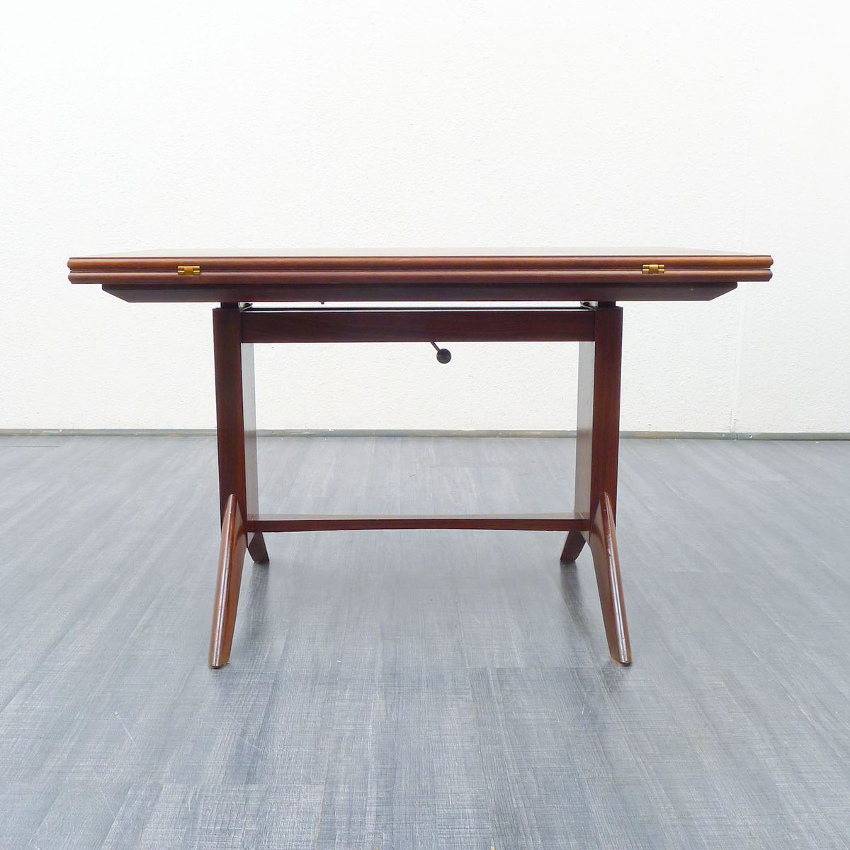 Rosewood coffee or dining table from wilhelm renz 1950s for sale at pamono Coffee table to dining table