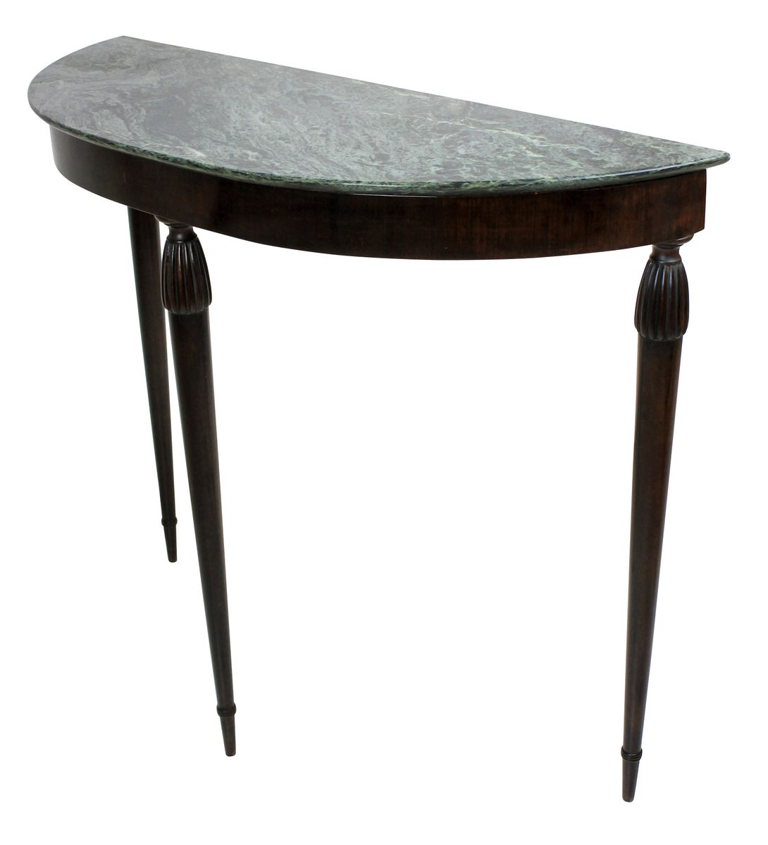 italian demi lune console table 1950s for sale at pamono. Black Bedroom Furniture Sets. Home Design Ideas
