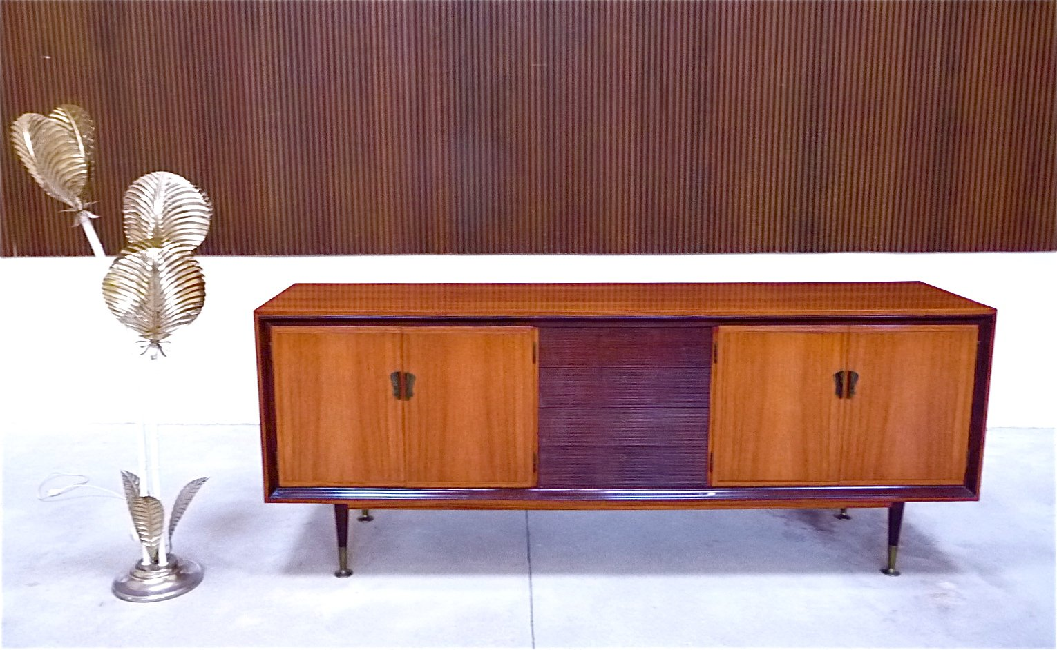 Italian vintage rosewood credenza 1950s for sale at pamono for 1950 s credenza
