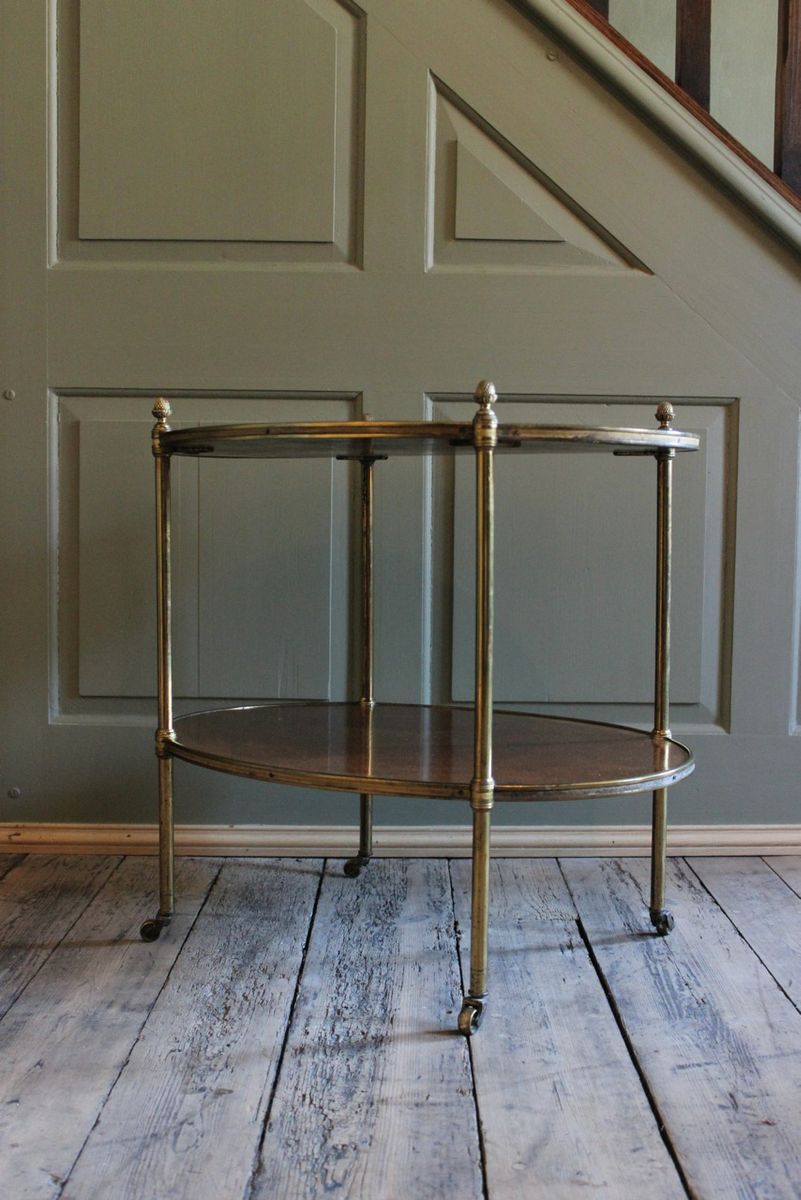 Antique kingwood and brass etagere for sale at pamono - Etagere string vintage ...