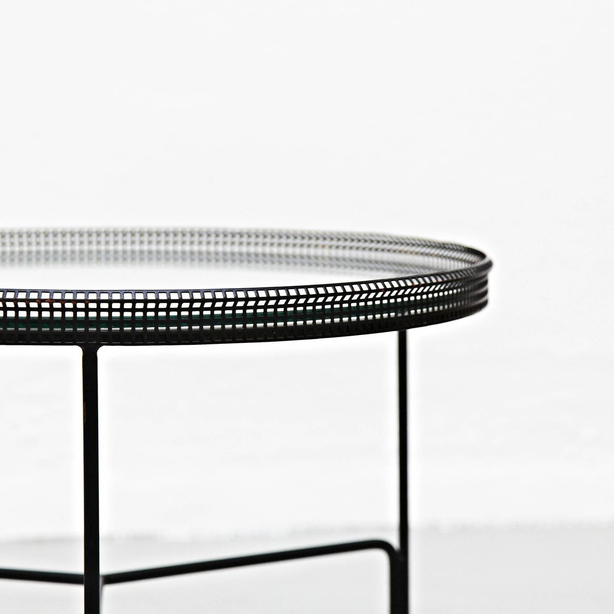 French metal coffee table by mathieu matgot 1950s for sale at pamono price per piece geotapseo Images
