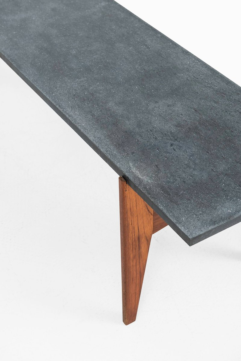Swedish teak black granite coffee table from hans agne jakobsson previous geotapseo Image collections