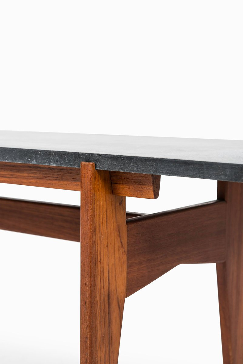 Swedish teak black granite coffee table from hans agne jakobsson swedish teak black granite coffee table from hans agne jakobsson 1960s geotapseo Image collections