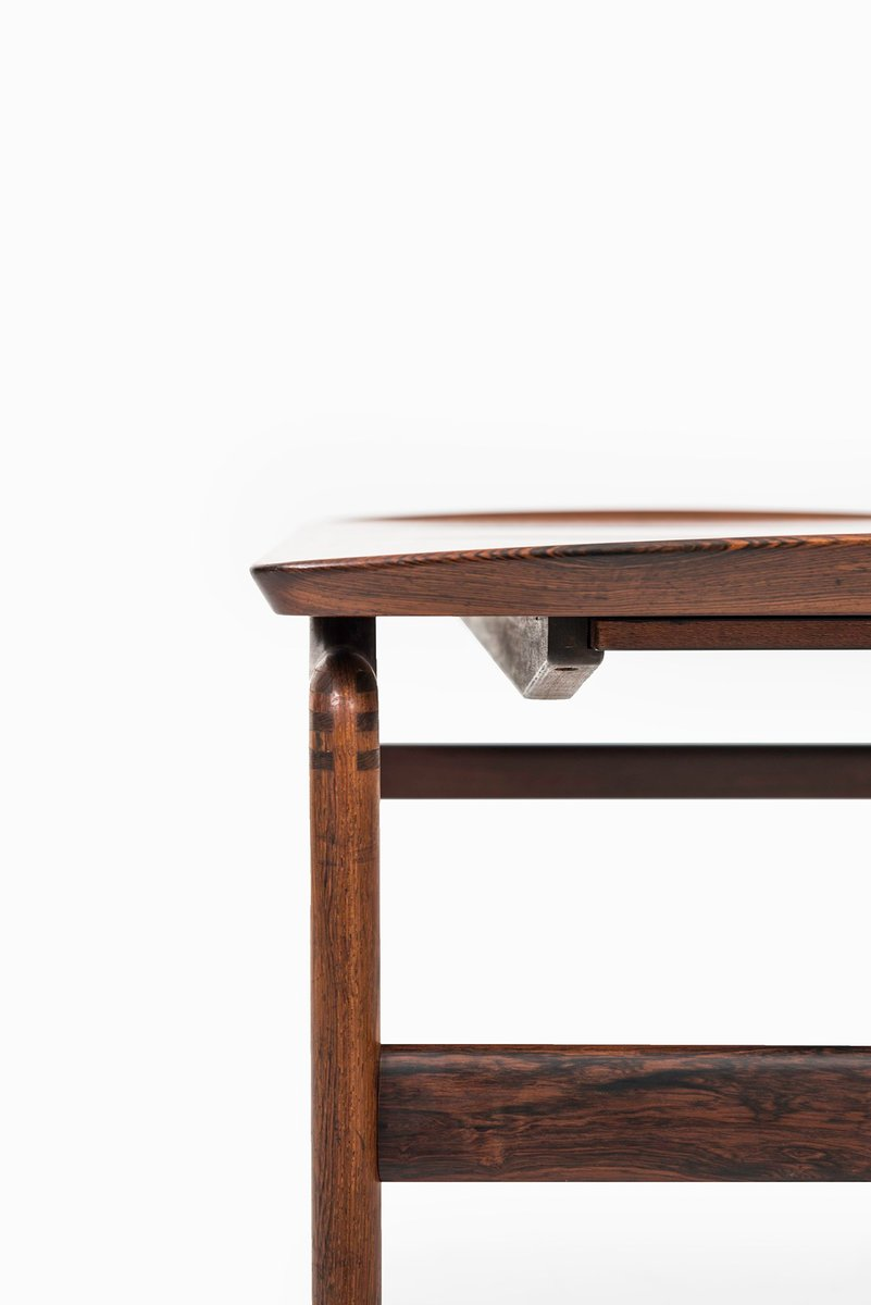 Danish rosewood black formica coffee table by peter hvidt orla m lgaard nielsen for france Formica coffee table
