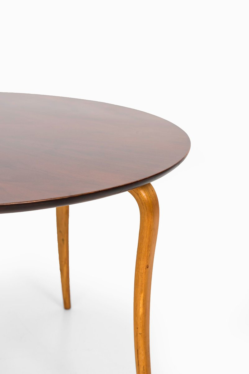 Swedish beech mahogany coffee table from sture b for Beech coffee table