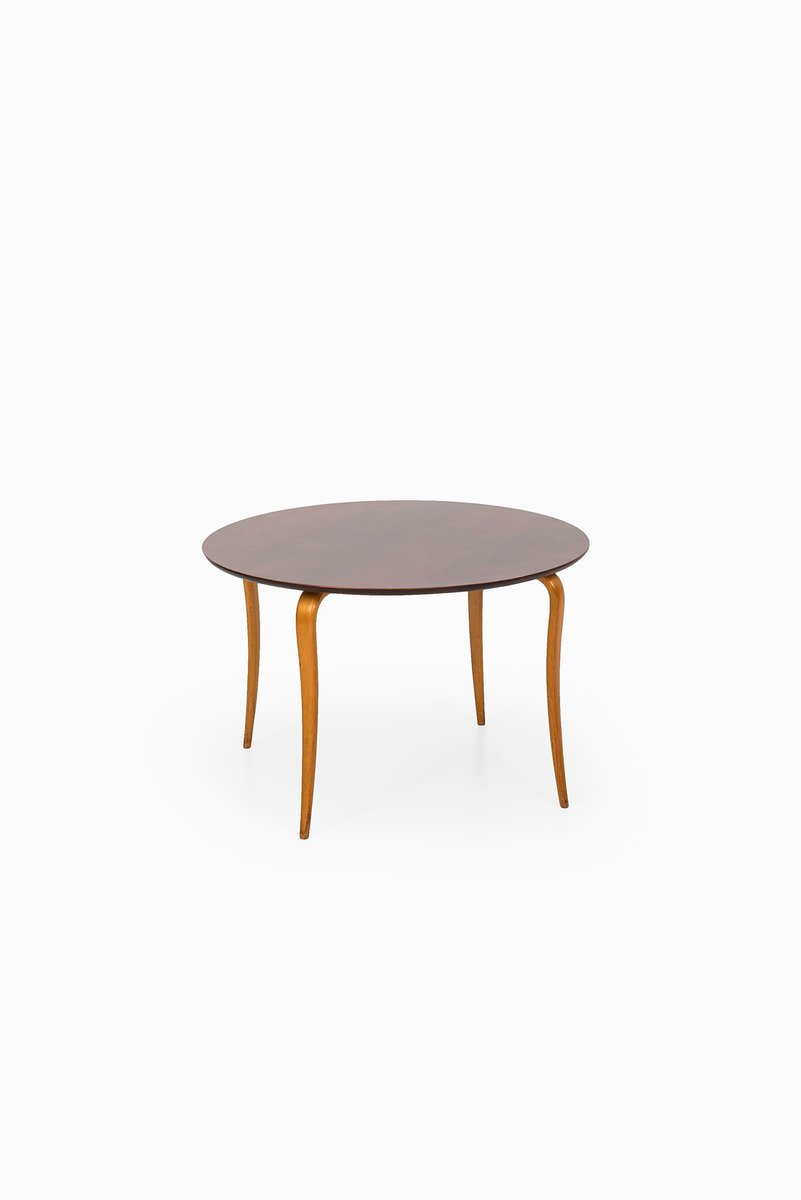 Swedish Beech Mahogany Coffee Table From Sture B Ohlsson 1950s For Sale At Pamono