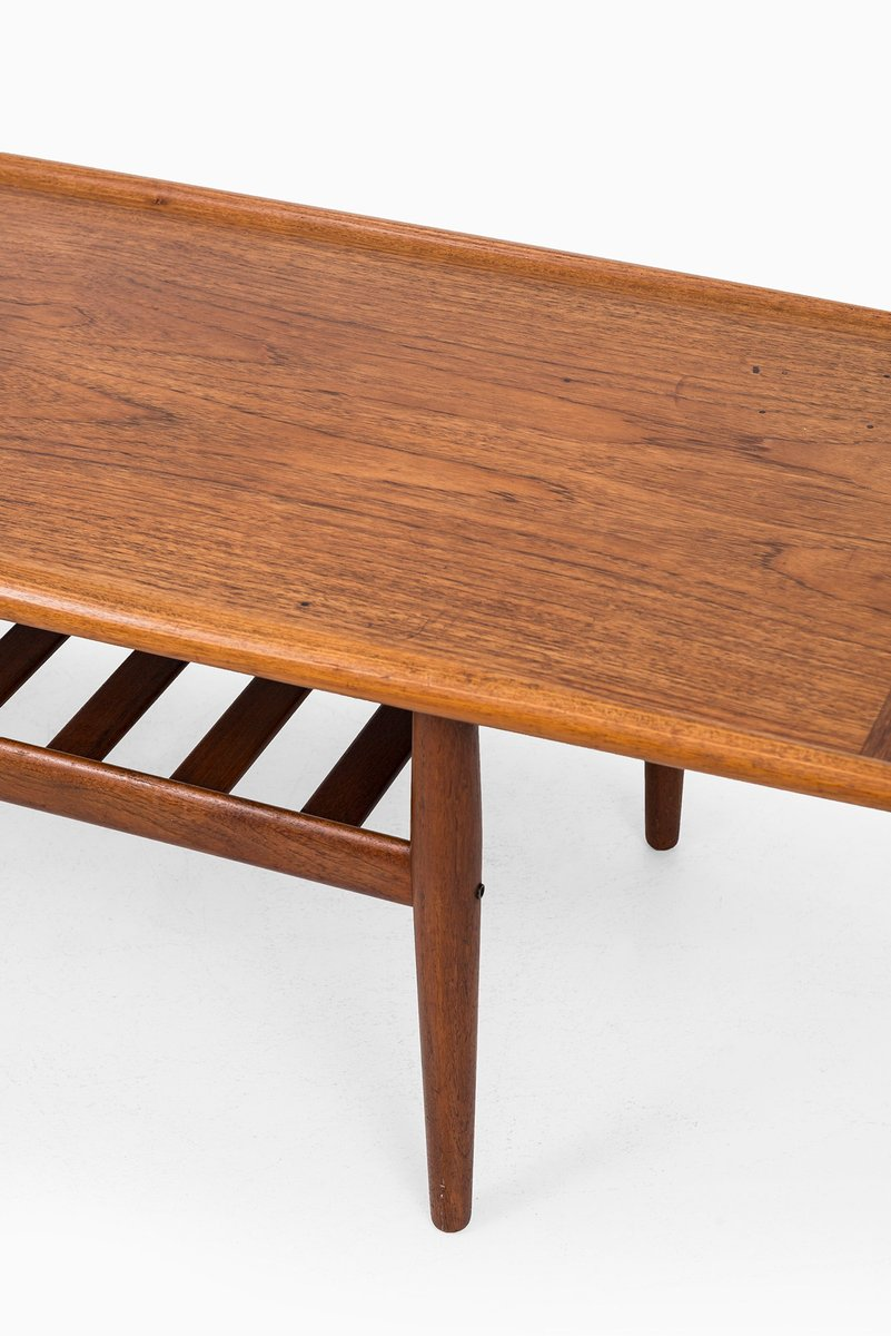Danish Teak Coffee Table By Grete Jalk For Glostrup M Belfabrik 1950s For Sale At Pamono