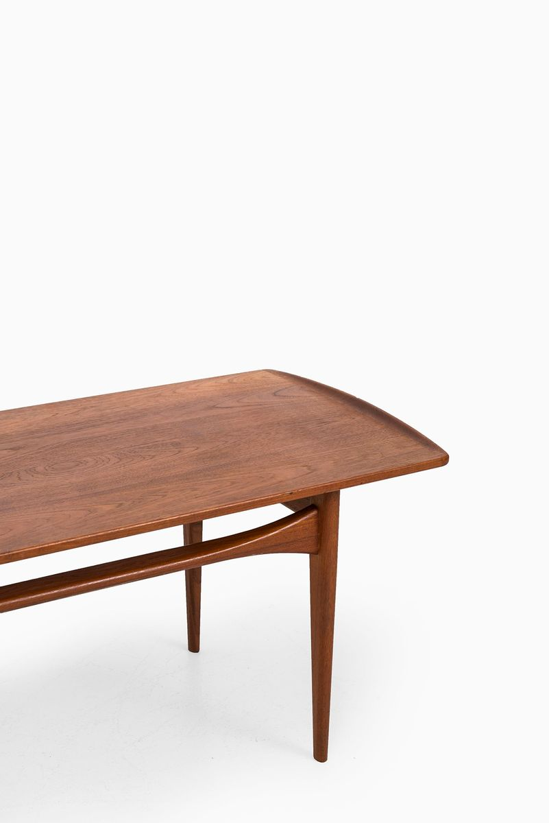 Danish Teak Fd503 Coffee Table By Tove Edvard Kindt Larsen For France Daverkosen 1950s For