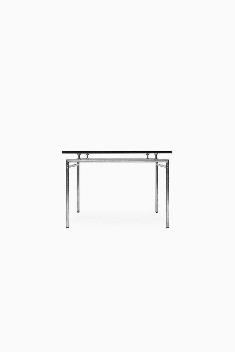 Danish Minimalist Chrome Glass Coffee Table By Poul N Rreklit For Selectform 1960s For Sale
