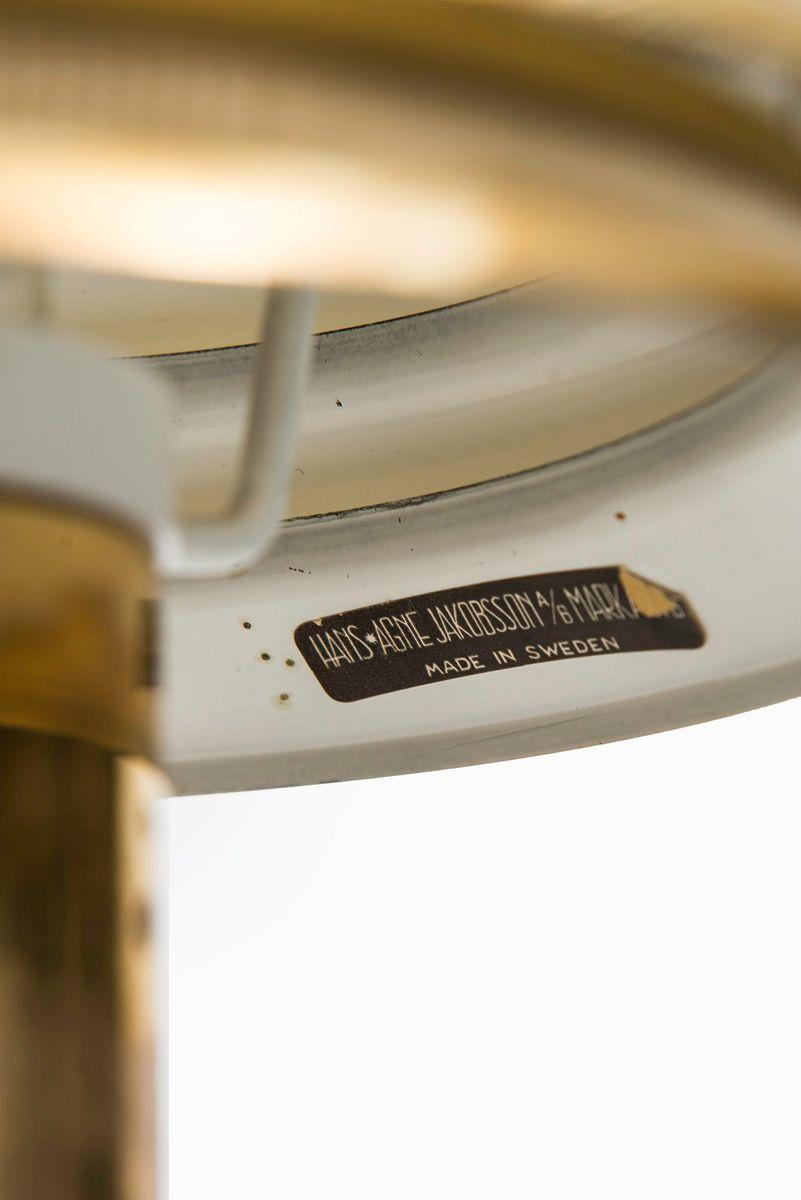 Scandinavian Model B-142 Table Lamp from Hans-Agne ...