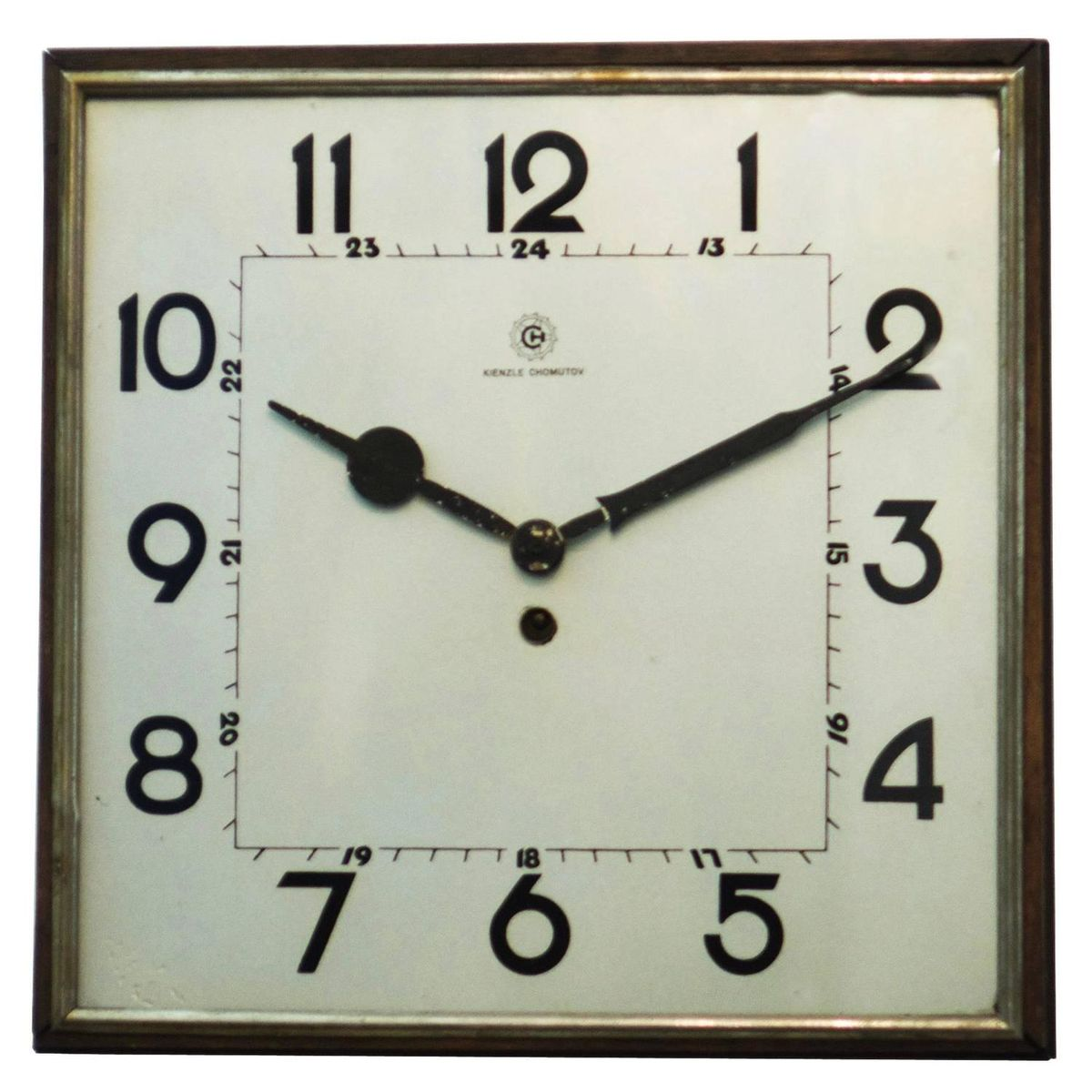 Big bauhaus wall clock from kienzle 1930s for sale at pamono for Kienzle wall clock parts