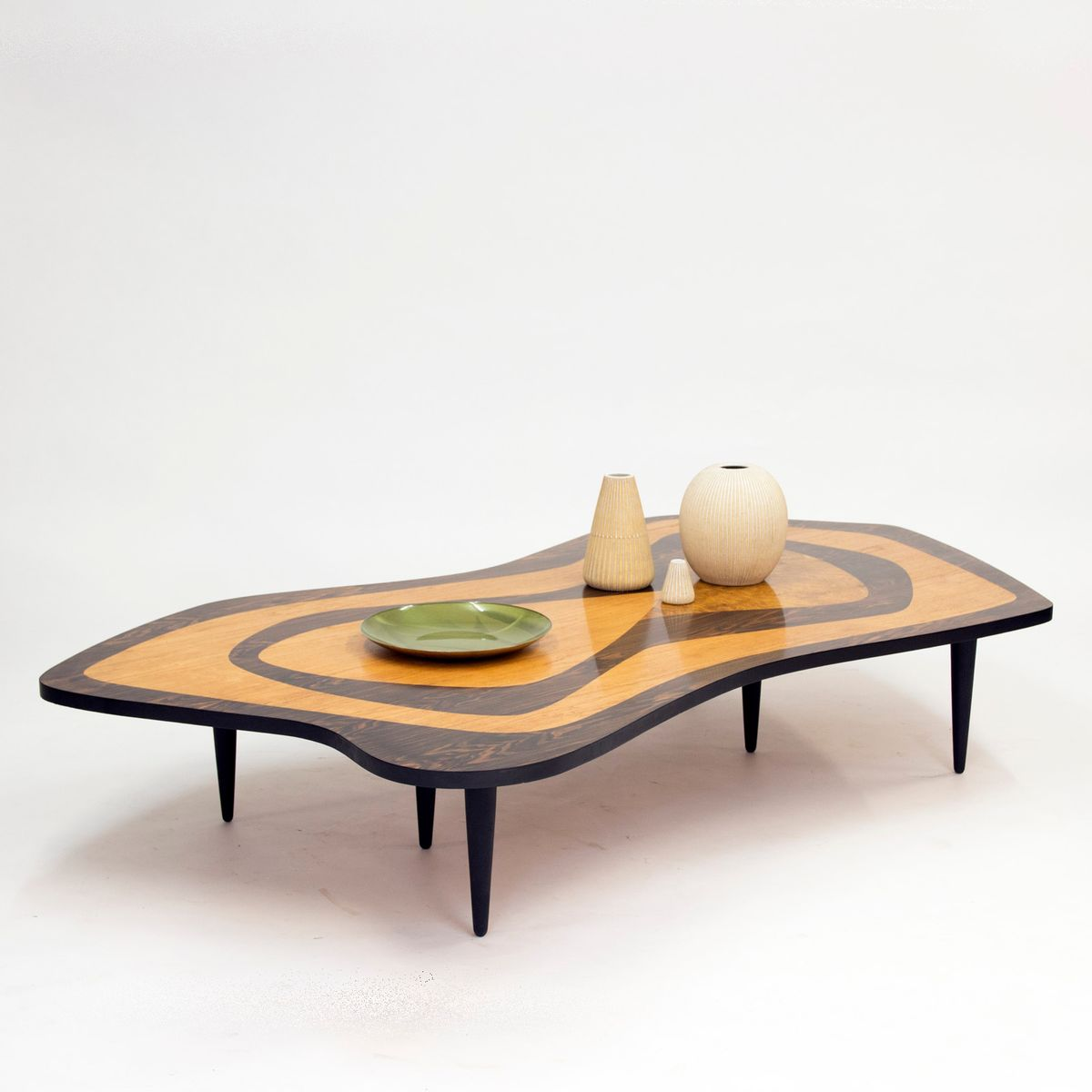 Swedish Over Sized Intarsia Coffee Table 1950s For Sale At Pamono