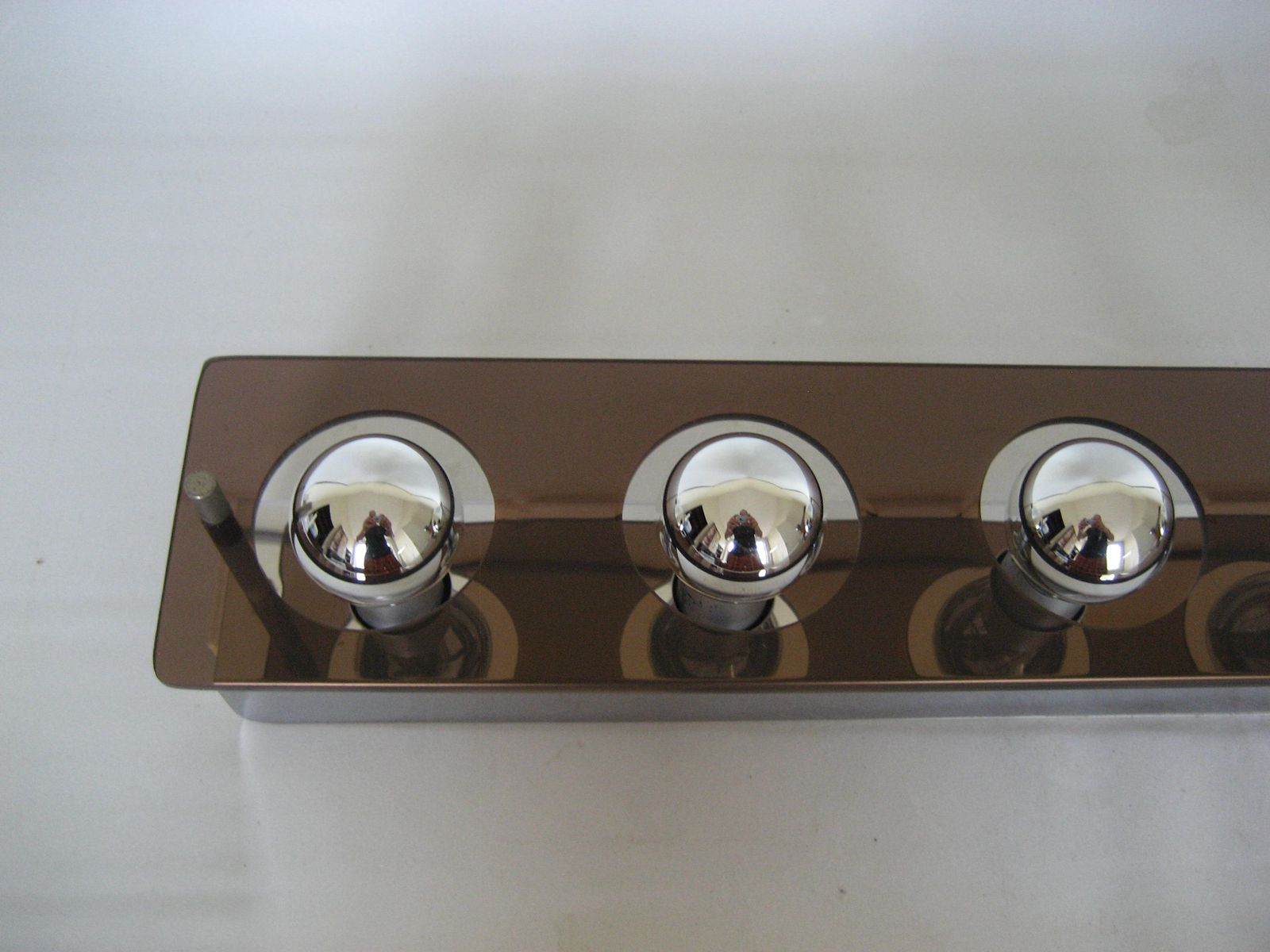 Vintage Italian Wall Lamp with Seven Lights from Ticino, 1970s for sale at Pamono