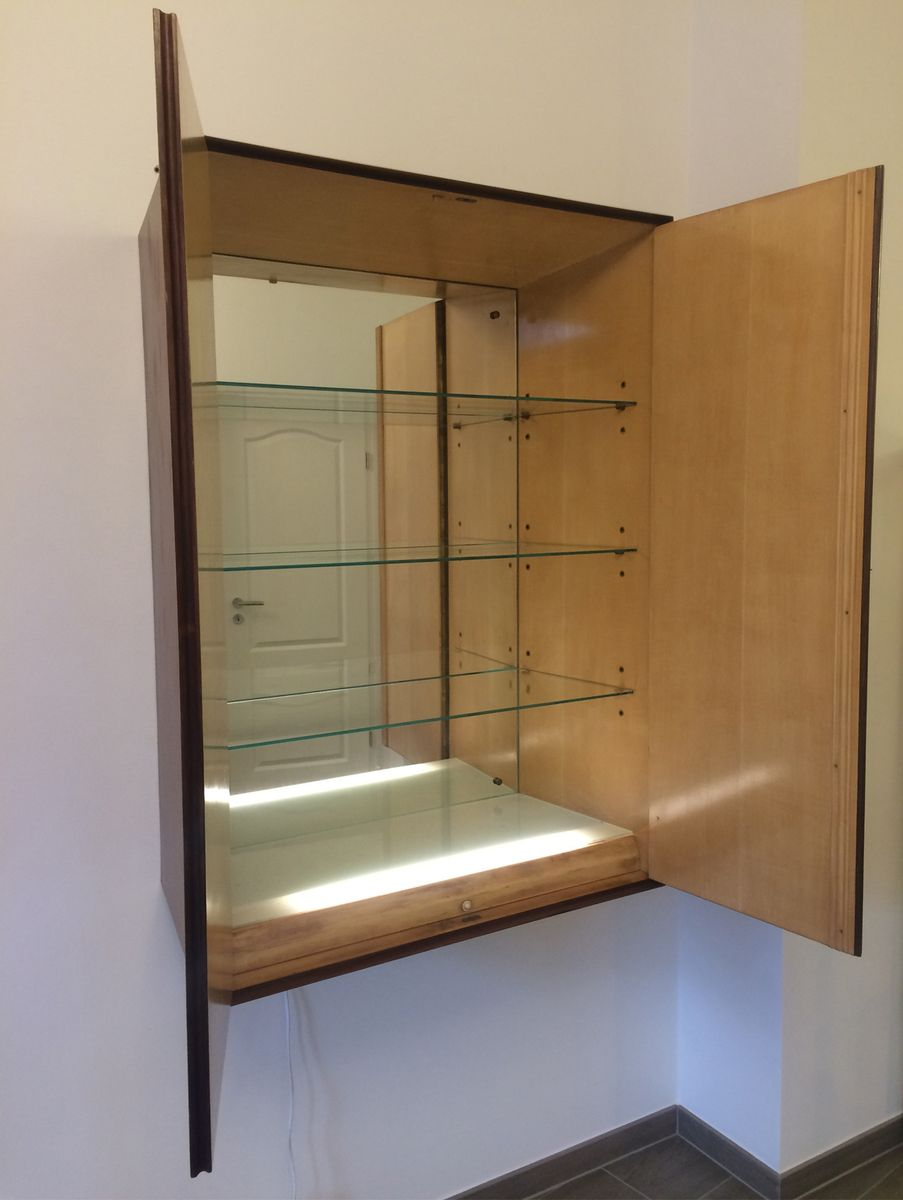 Italian mini bar cabinet 1950s for sale at pamono for Mini bar wall cabinet