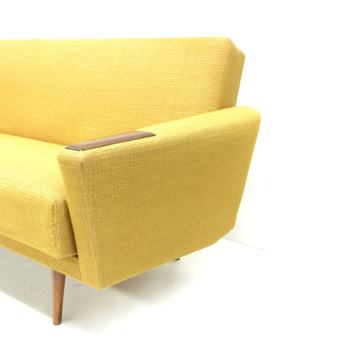 Vintage Yellow Sofa Bed 1960s For Sale At Pamono
