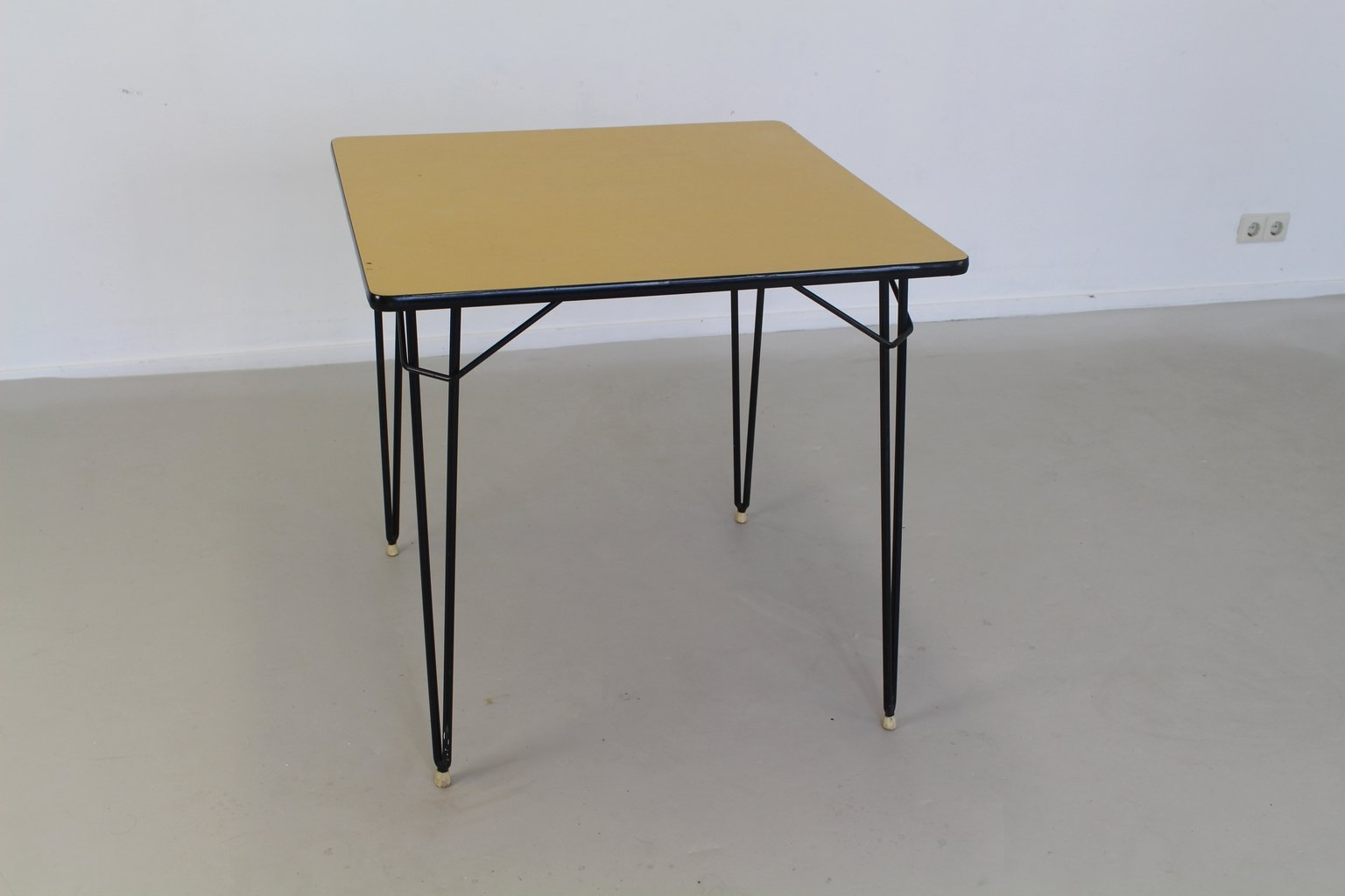 Dutch formica metal kitchen table 1965 for sale at pamono - Formica top kitchen table ...