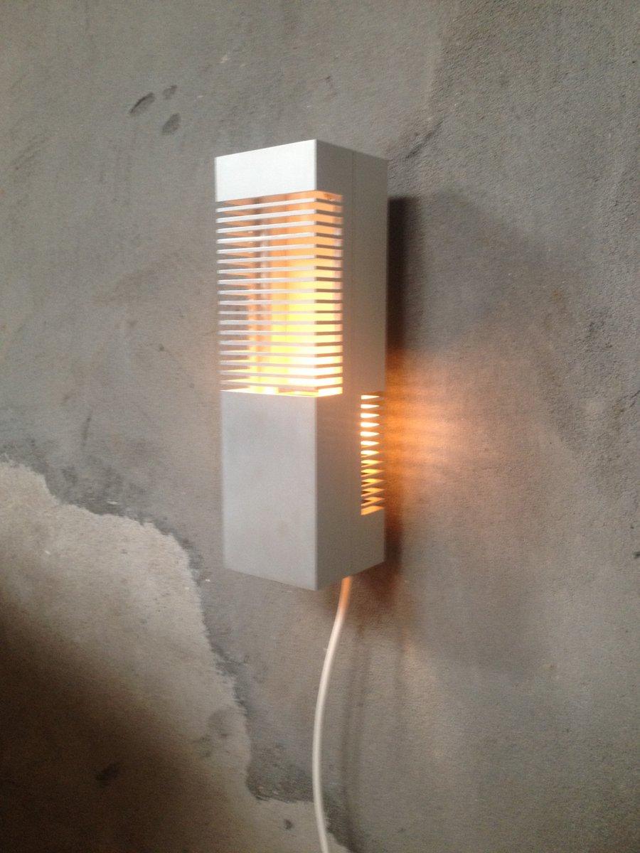 Moderne wandlampen 4er set bei pamono kaufen for Moderne wandlampen