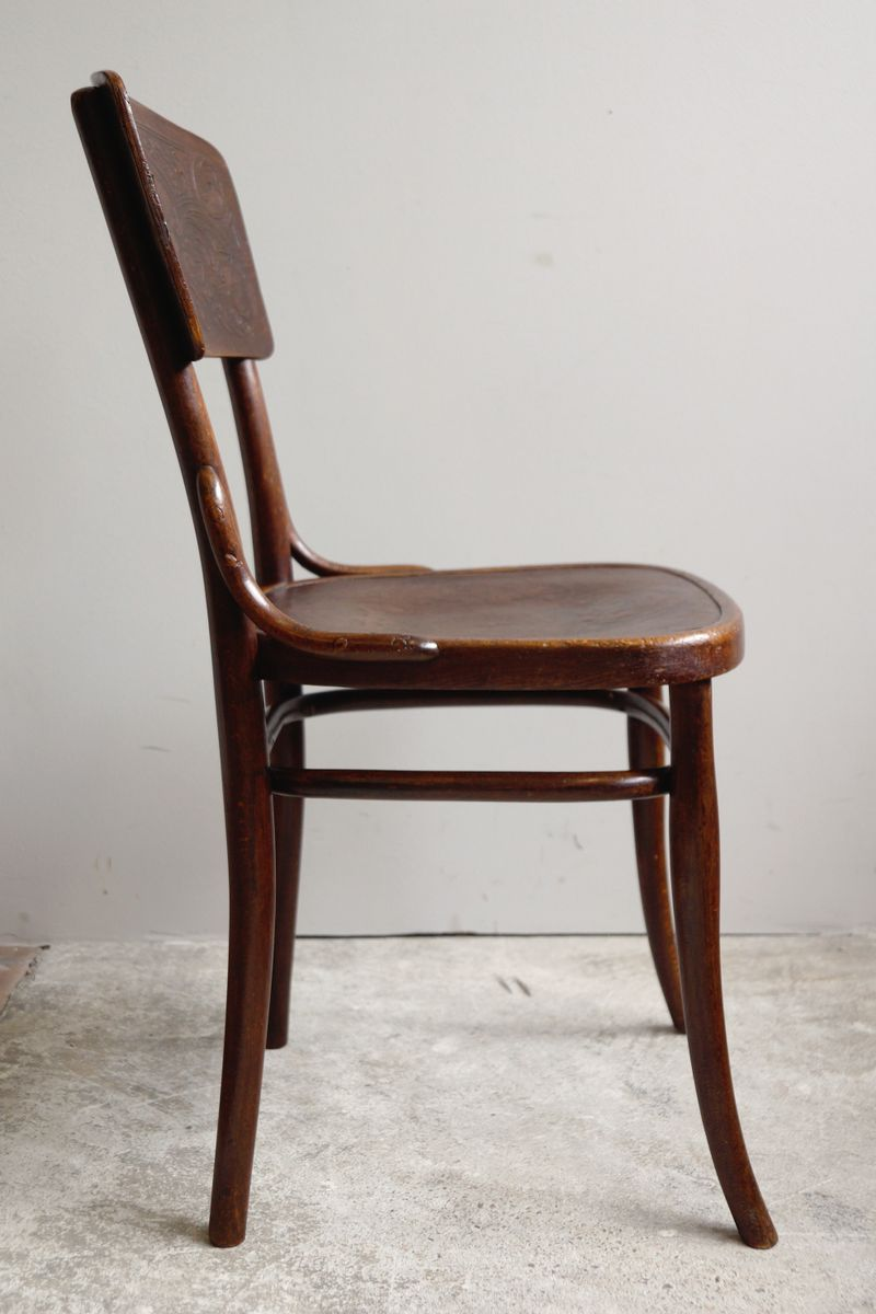 Austrian Bentwood Bistro Chairs By Michael Thonet For Thonet 1910s Set Of 4