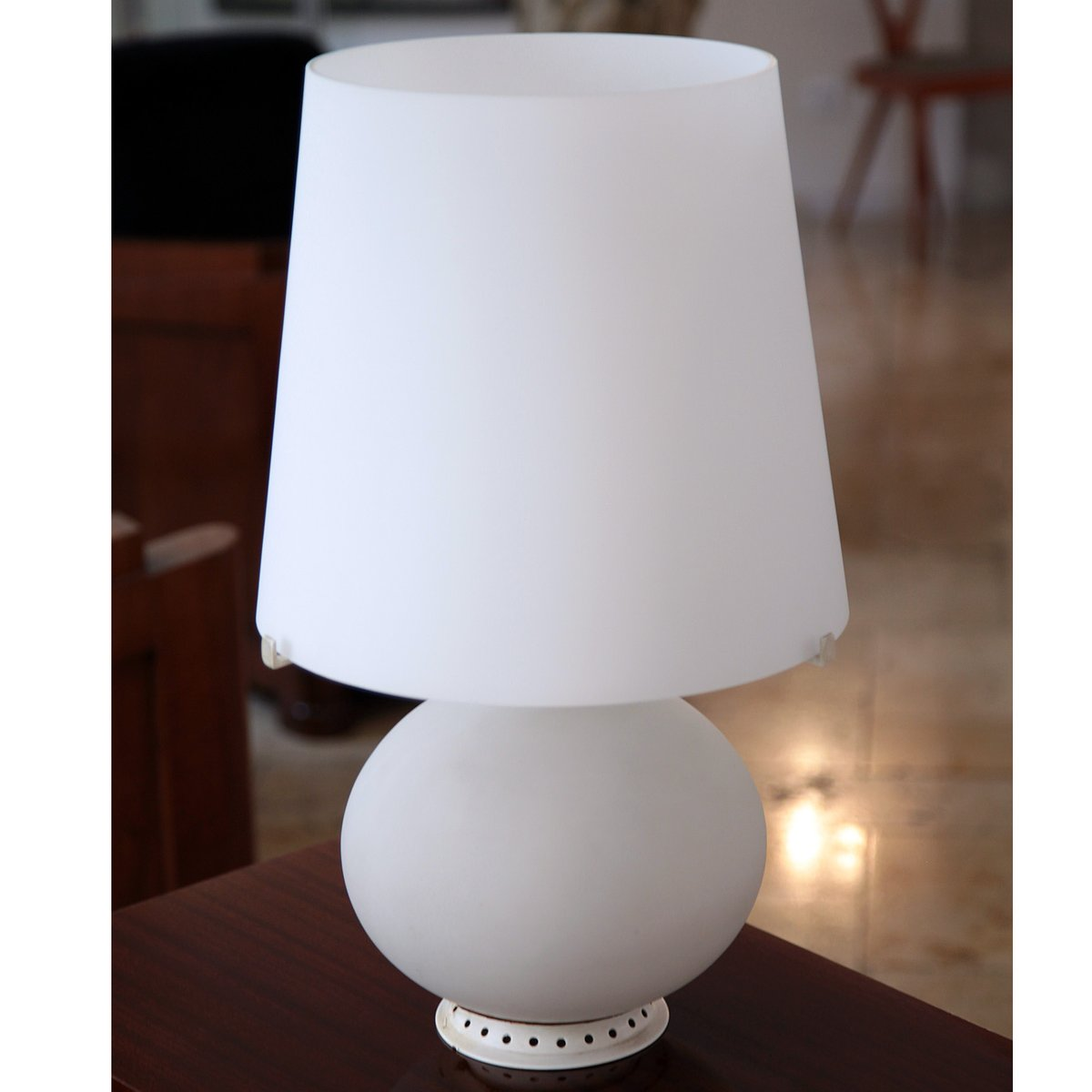 fontana 1853 table lamp by max ingrand for fontana arte for sale at pamono. Black Bedroom Furniture Sets. Home Design Ideas