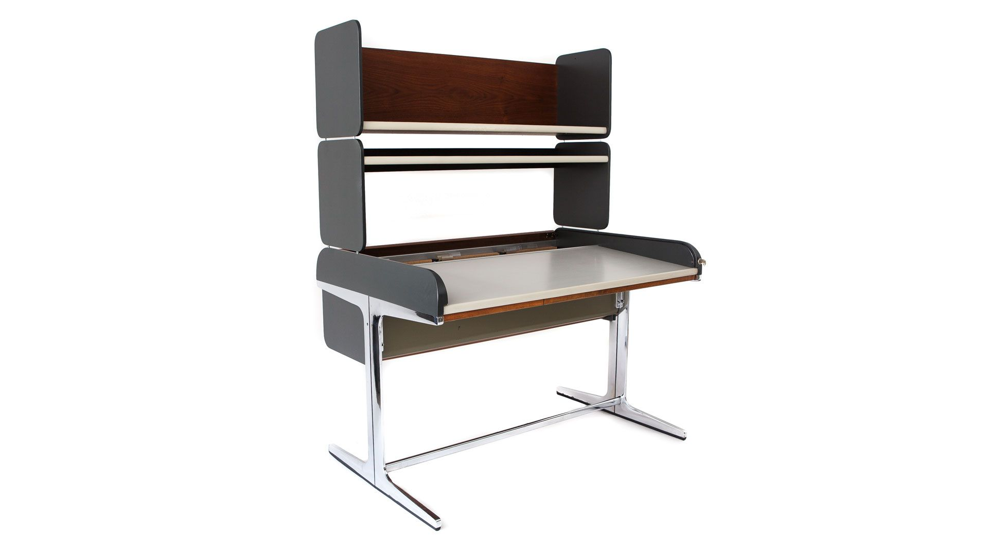 Tall Action Office Desk by George Nelson for Herman Miller, 1964 ...