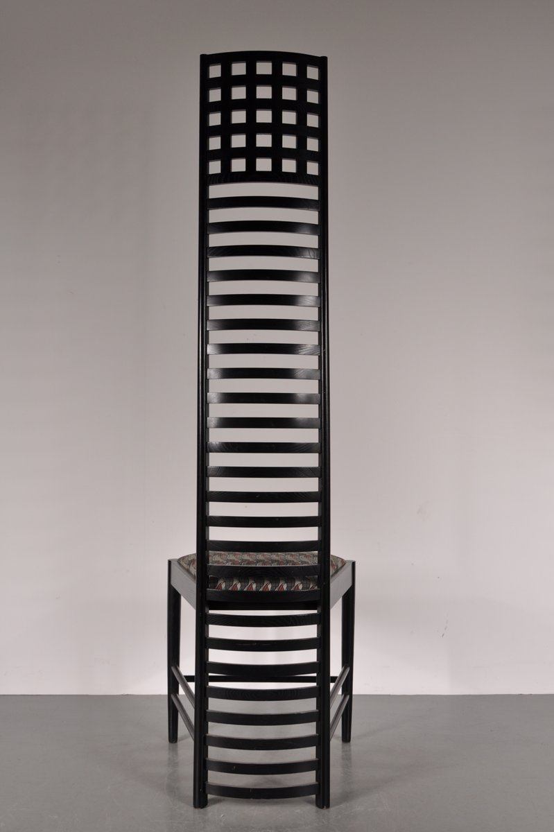 Xl Edition Hill House Ladderback Chair By Charles Rennie