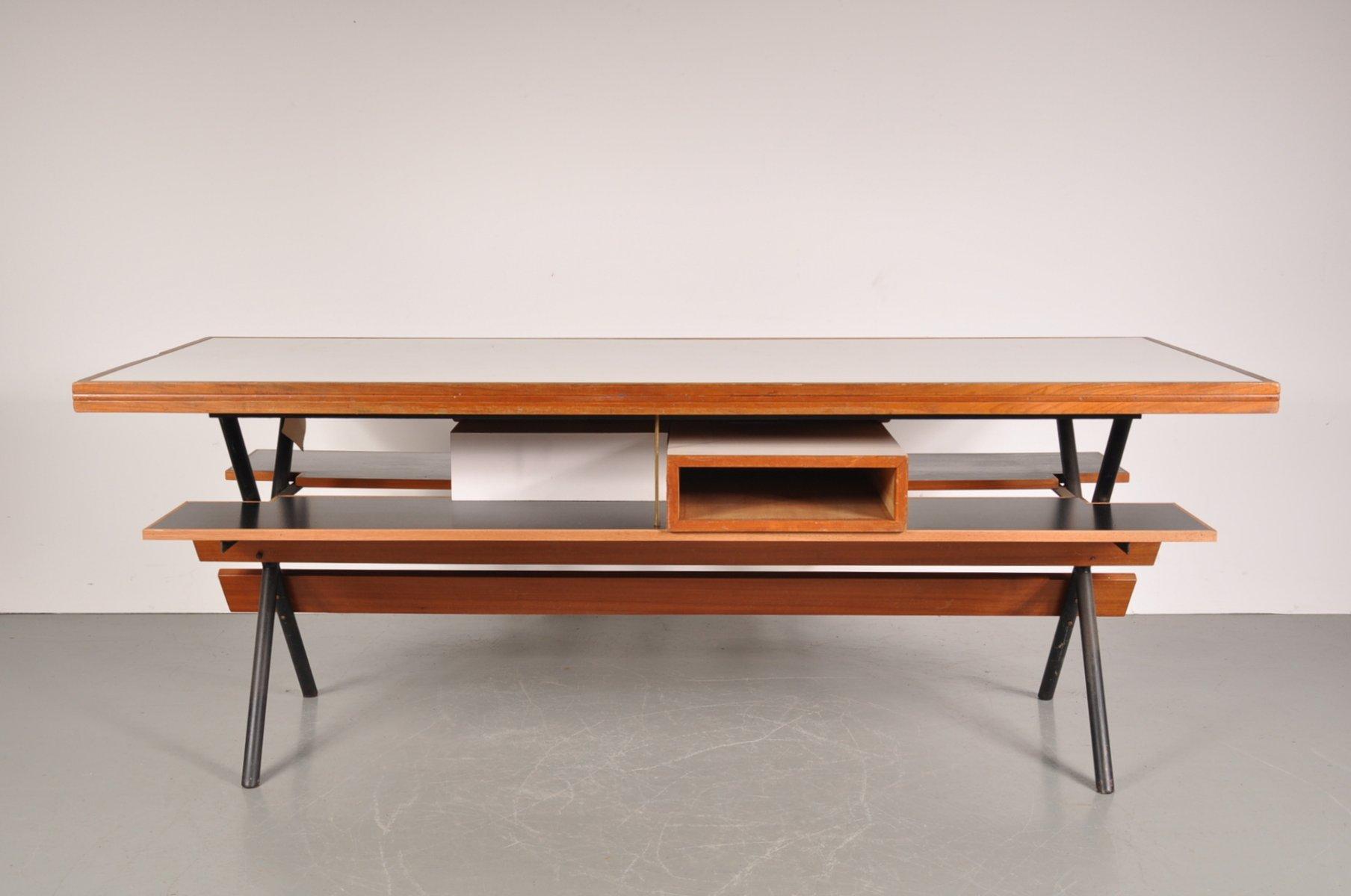 Tavolo da lavoro su misura, anni \'50 in vendita su Pamono
