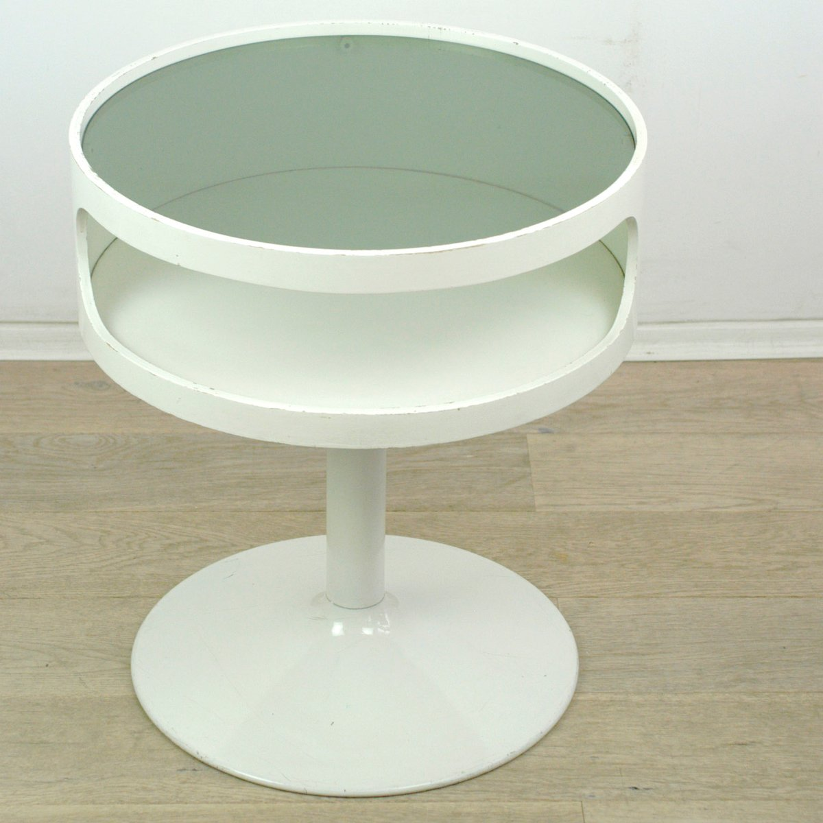 german tulip foot side table from opal 1960s for sale at. Black Bedroom Furniture Sets. Home Design Ideas