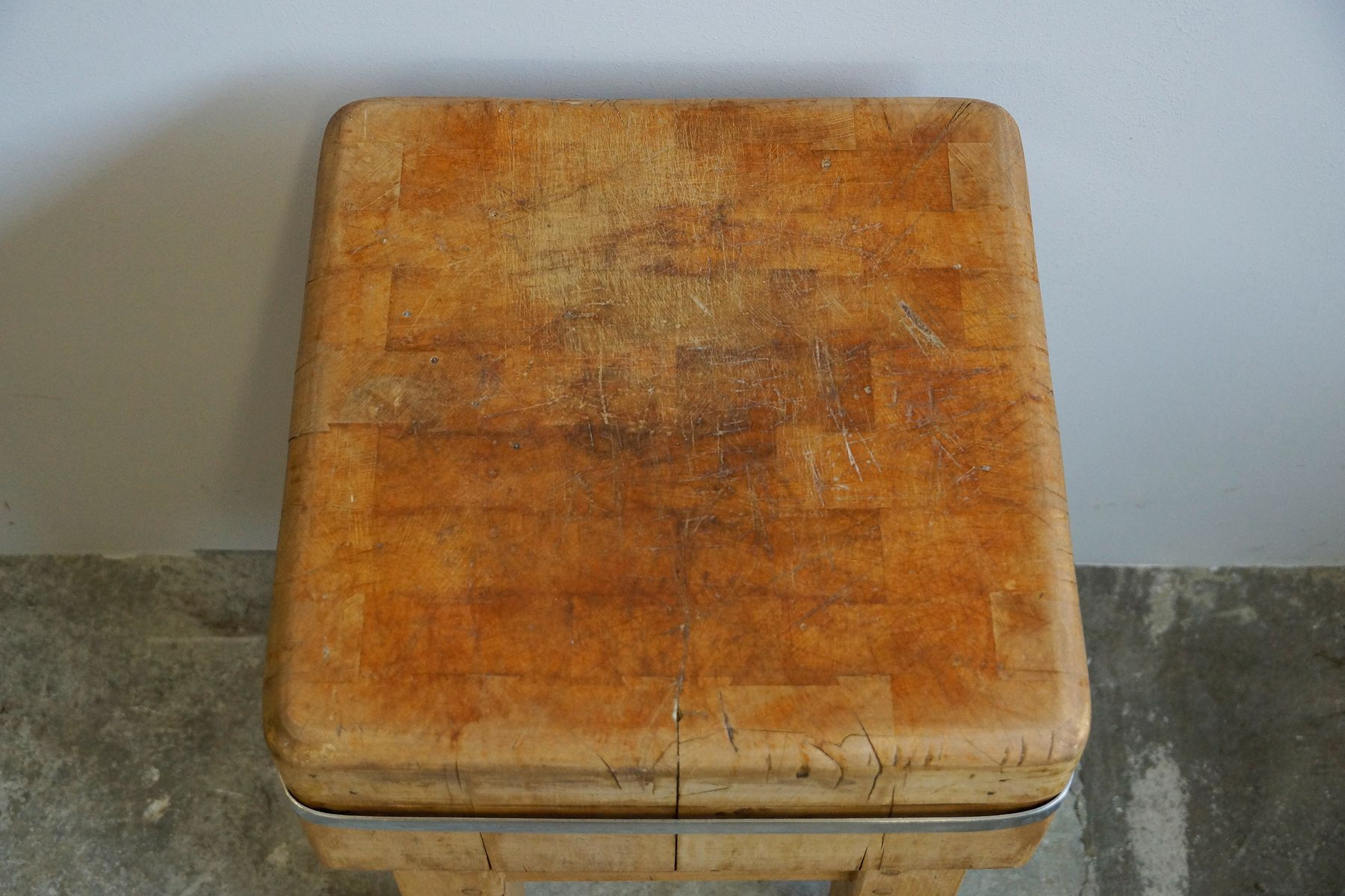 small butcher s chopping block 1950s for sale at pamono